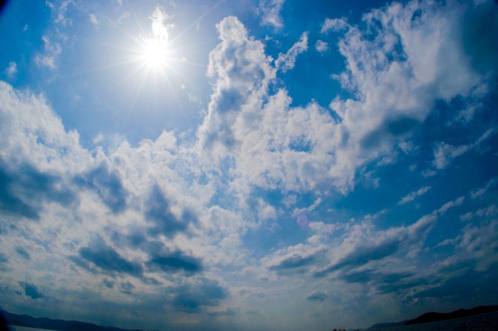 心が曇っているときの空の様子